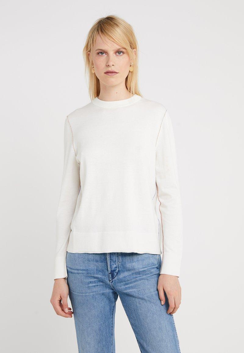 BOSS - IBANNI - Jersey de punto - open white