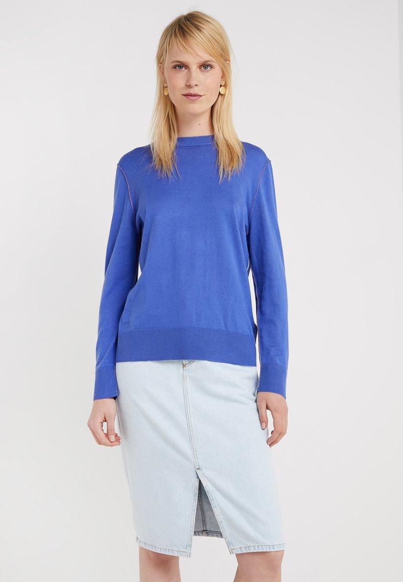 BOSS - IBANNI - Jumper - medium blue