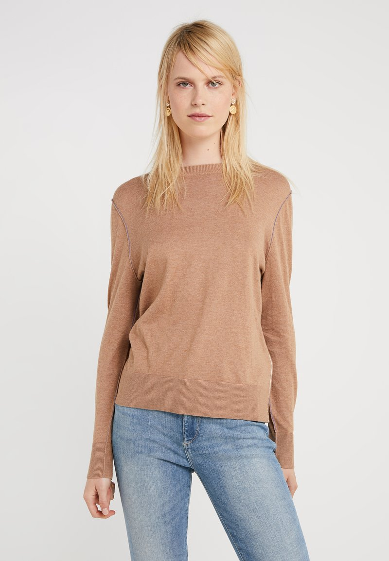 BOSS - IBANNI - Strickpullover - light/pastel brown