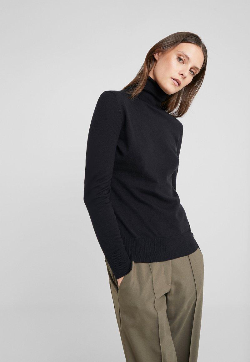 BOSS - IDDINIAS - Stickad tröja - black