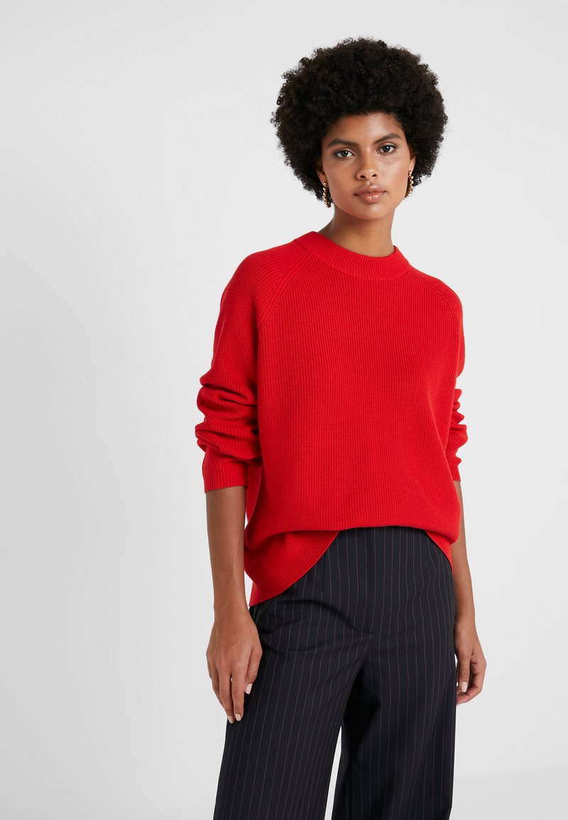 BOSS - WENEVER - Strickpullover - bright red
