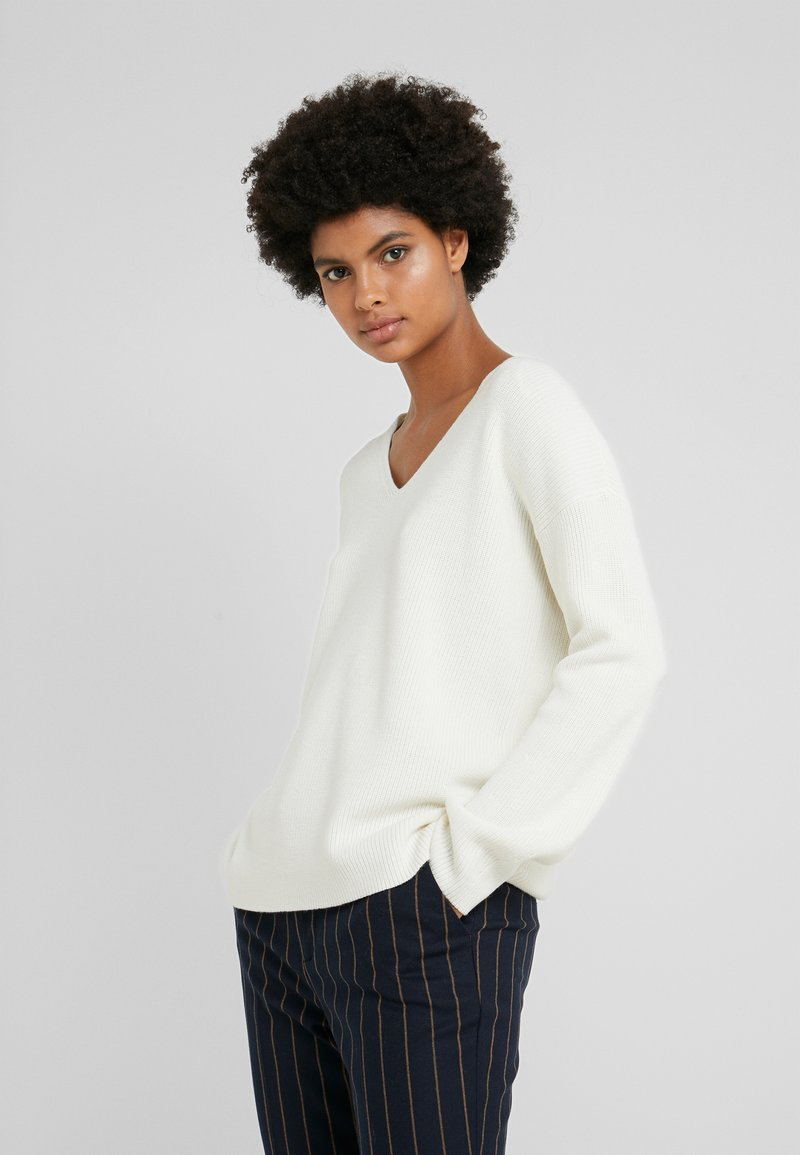 BOSS - WENNELLY - Jumper - open white