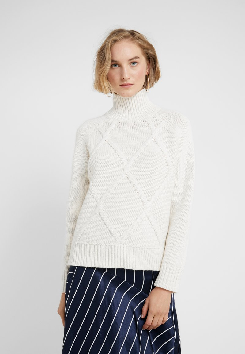 BOSS - WINTERELLE - Jumper - open white