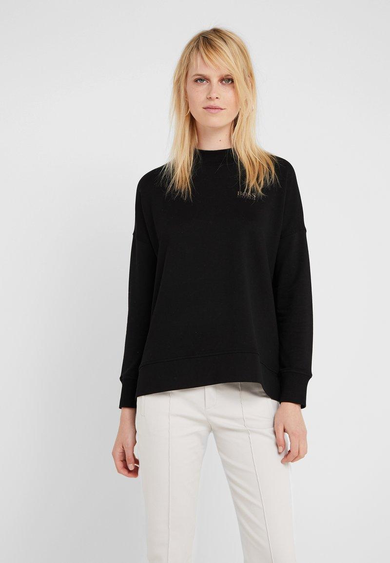 BOSS - TERIBNECK - Sweatshirt - black