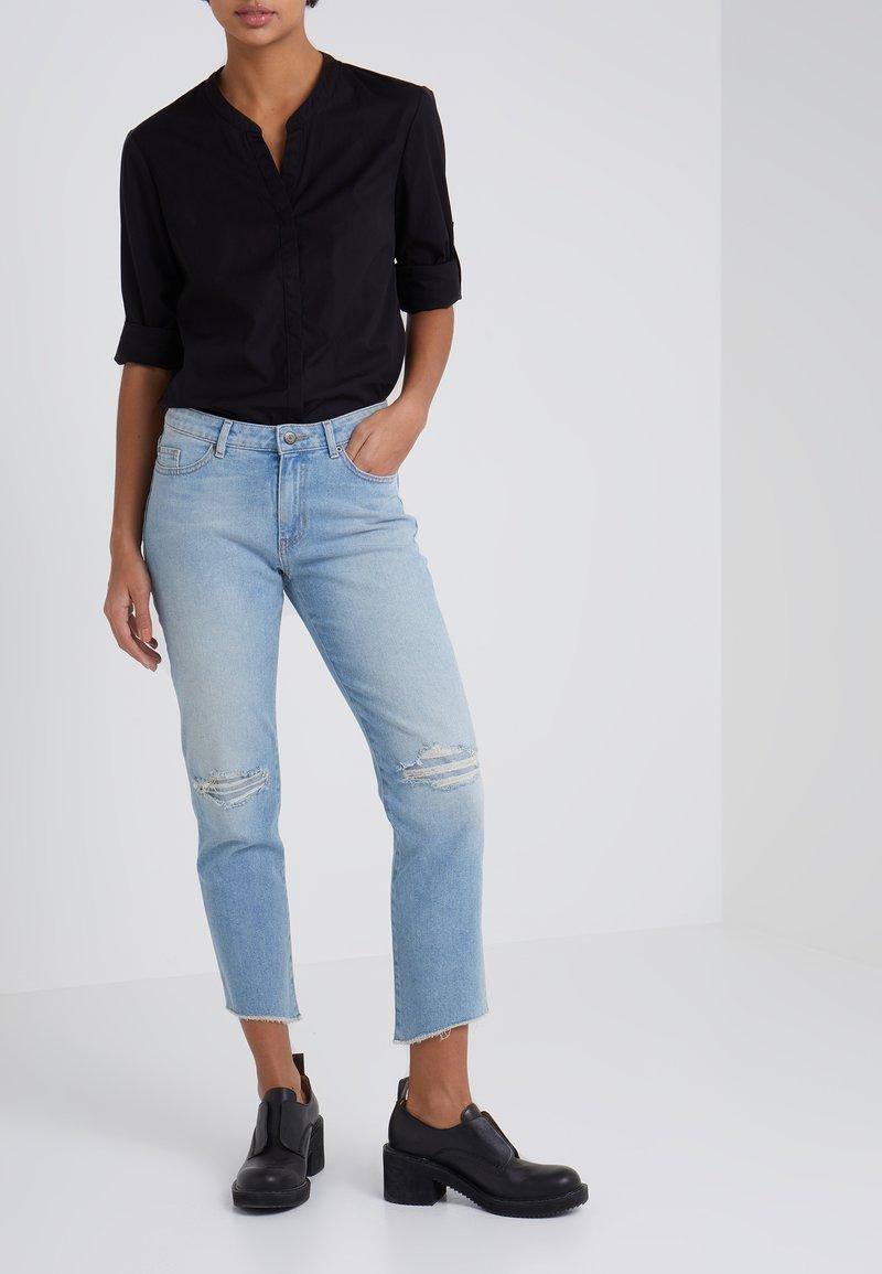 BOSS - Jeans Skinny Fit - turquoise/aqua