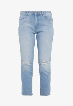 Jeansy Skinny Fit - turquoise/aqua