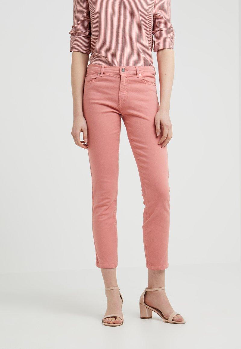 BOSS - SELMA - Skinny džíny - light pastel orange