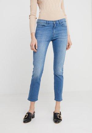 SELMA - Jeans slim fit - turquoise/aqua