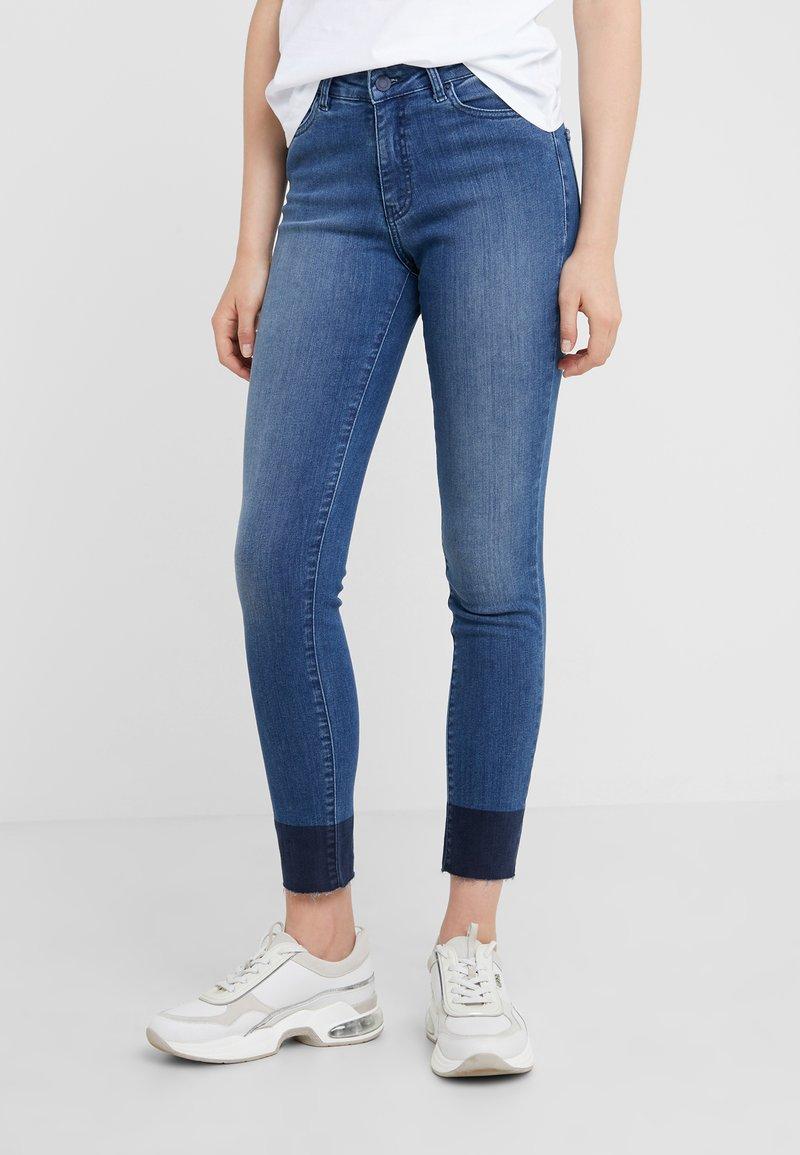 BOSS - Skinny džíny - medium blue