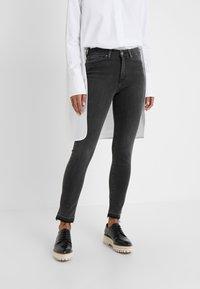 BOSS - BERGAMO - Jeans Skinny Fit - dark grey - 0