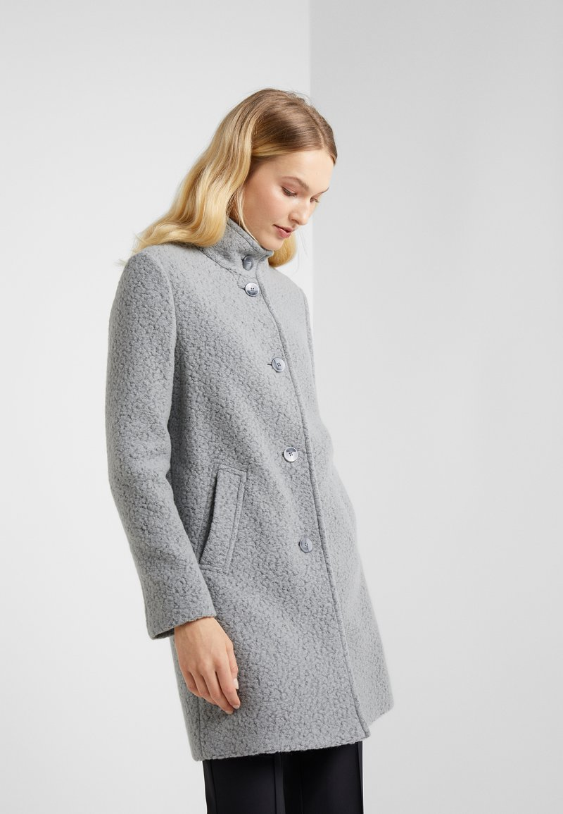 BOSS - OHSANDY - Classic coat - light grey melange