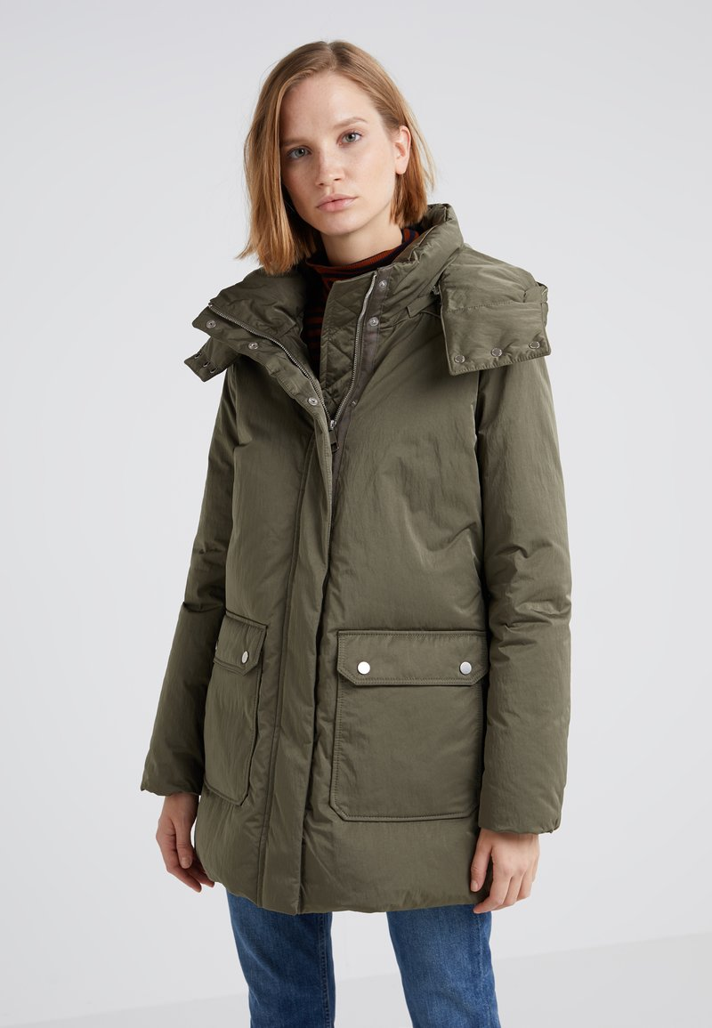 BOSS - OHIRE - Down coat - olive