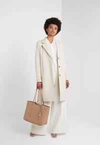 BOSS - OCOMFY - Zimní kabát - open white - 1