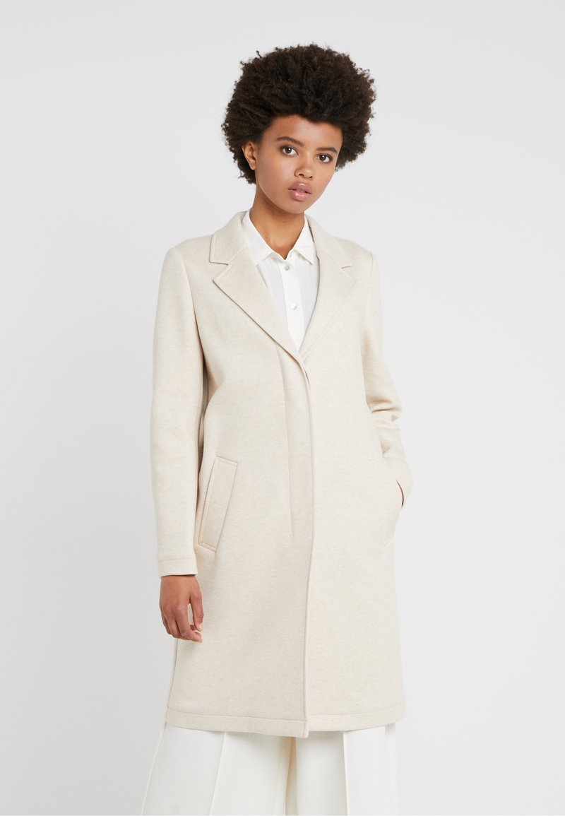 BOSS - OCOMFY - Zimní kabát - open white