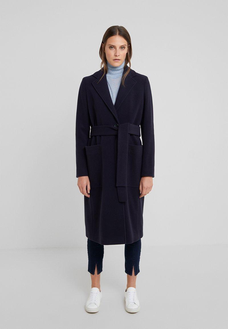 BOSS - OCASHMY - Classic coat - open blue