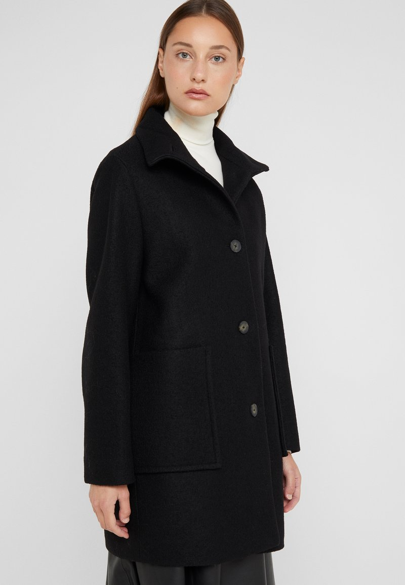 BOSS - OKTOBER - Zimní kabát - black