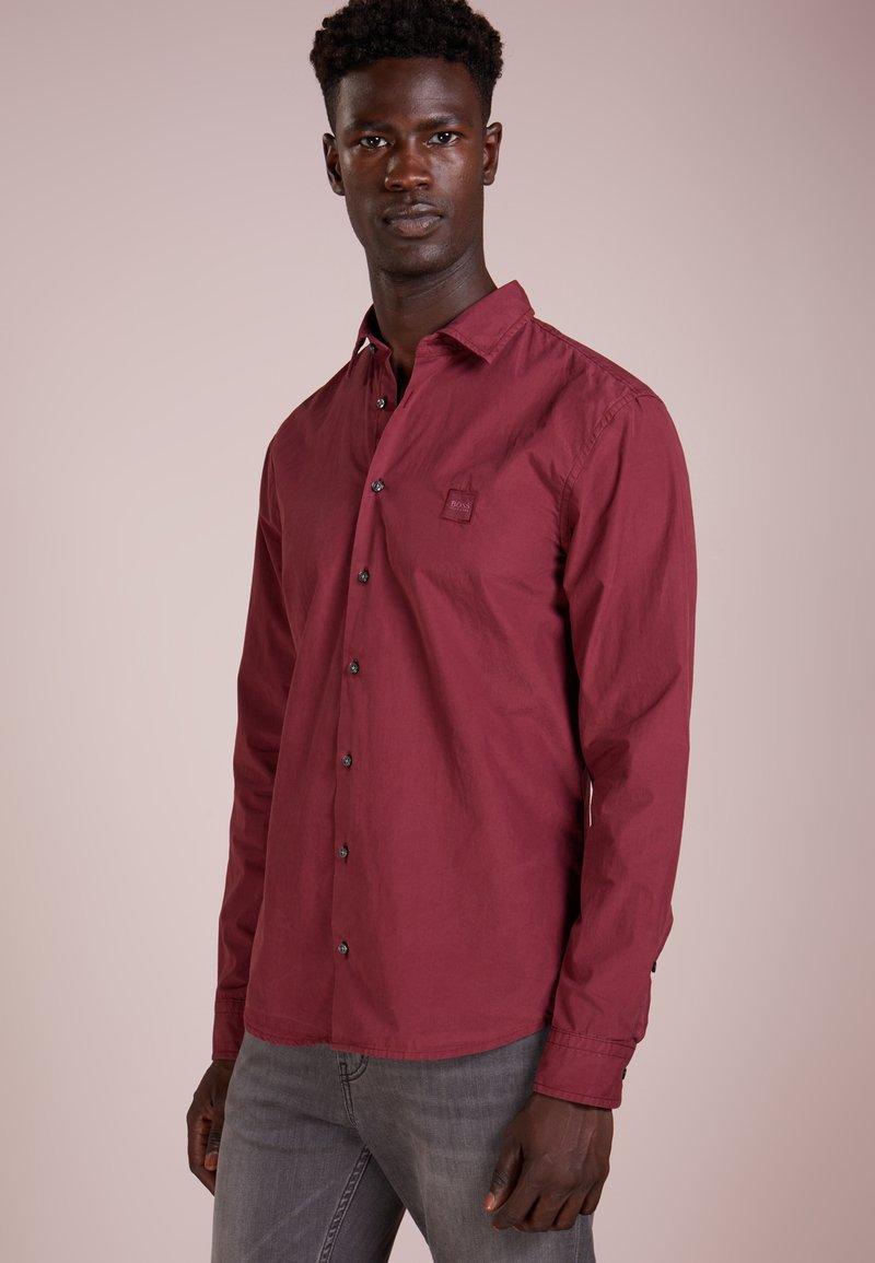 BOSS - MYPOP SLIM FIT - Shirt - open red