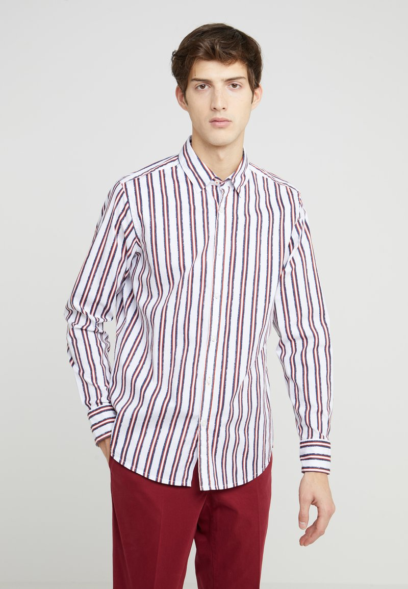 BOSS - RELEGANT - Camicia - dark orange
