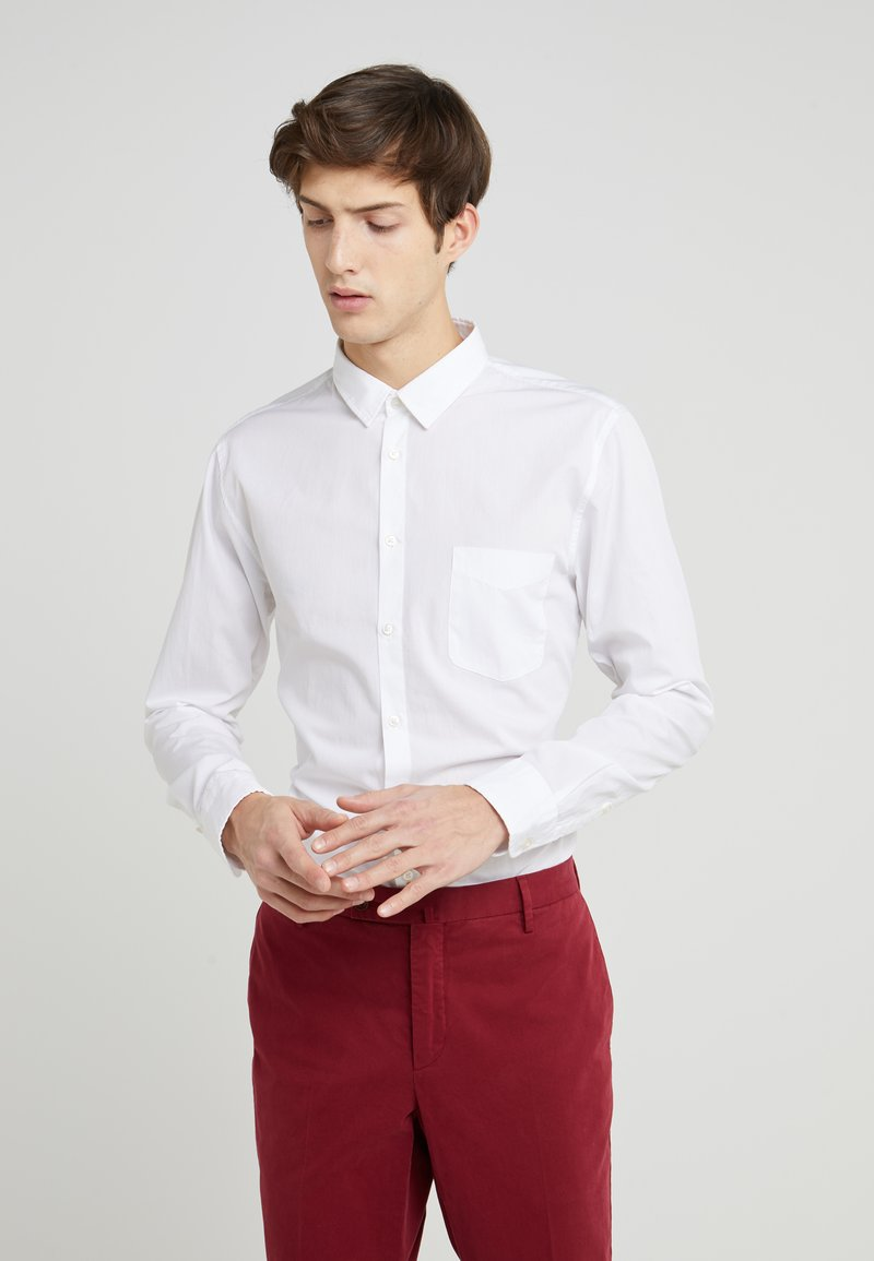 BOSS - MAGNETON SLIM FIT - Koszula - white