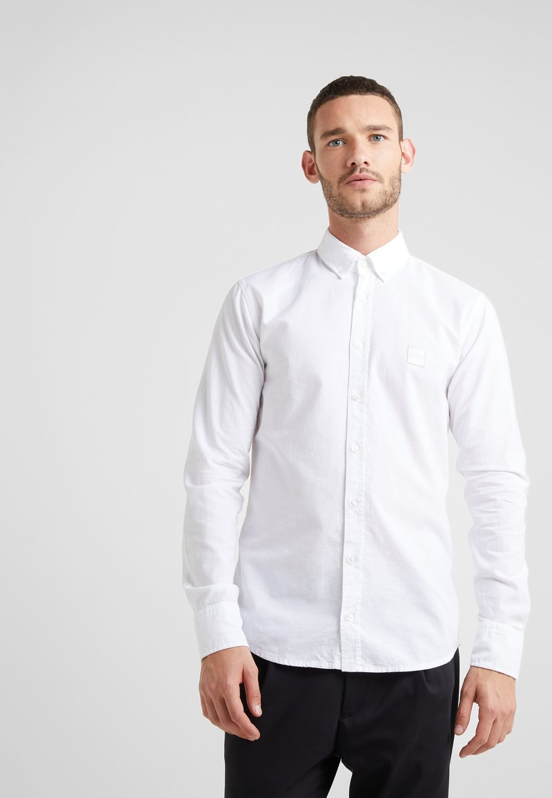 BOSS - MABSOOT SLIM FIT - Hemd - white