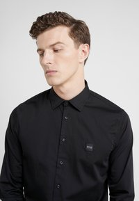 BOSS - MYPOP SLIM FIT - Shirt - black - 4