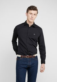 BOSS - MYPOP SLIM FIT - Shirt - black - 0