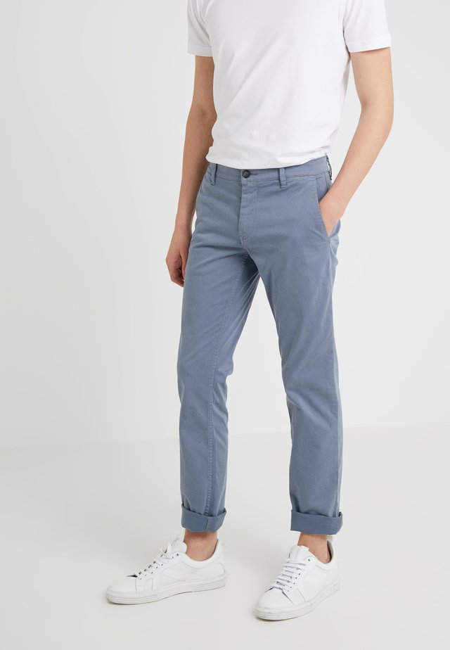 SCHINO - Pantalones chinos - blue