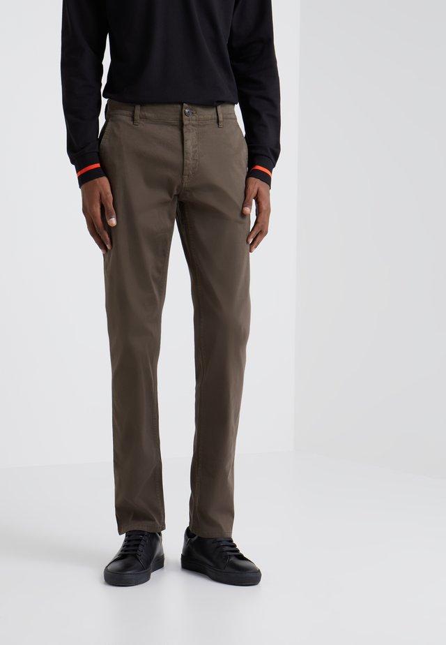 SCHINO - Pantalones chinos - open beige