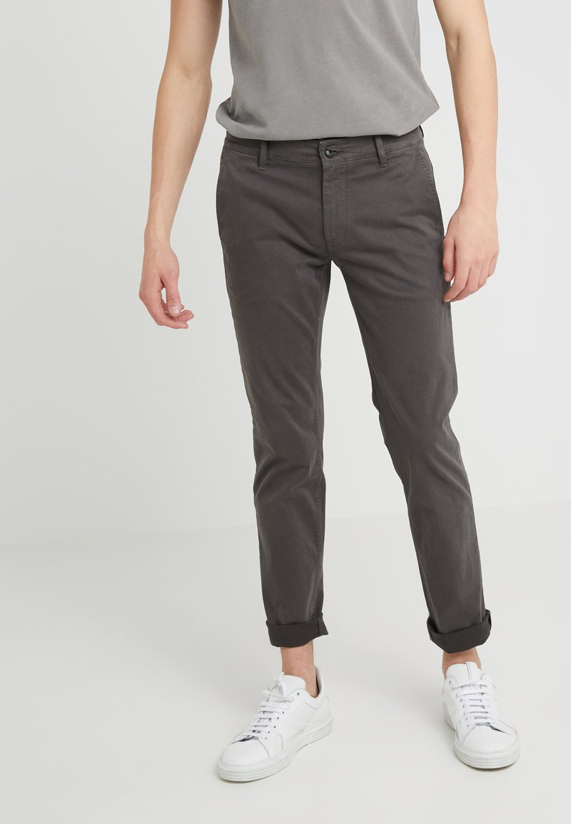 BOSS - SCHINO - Chinos - charcoal