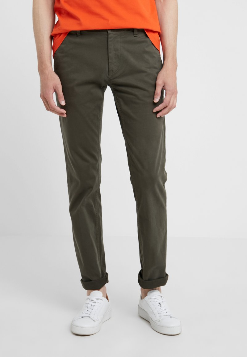 BOSS - SCHINO SLIM - Chino - dark green