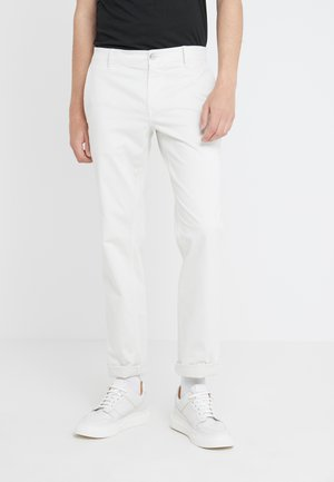 REGULAR FIT - Trousers - open beige