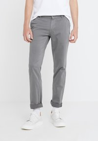 BOSS - REGULAR FIT - Trousers - dark grey - 0