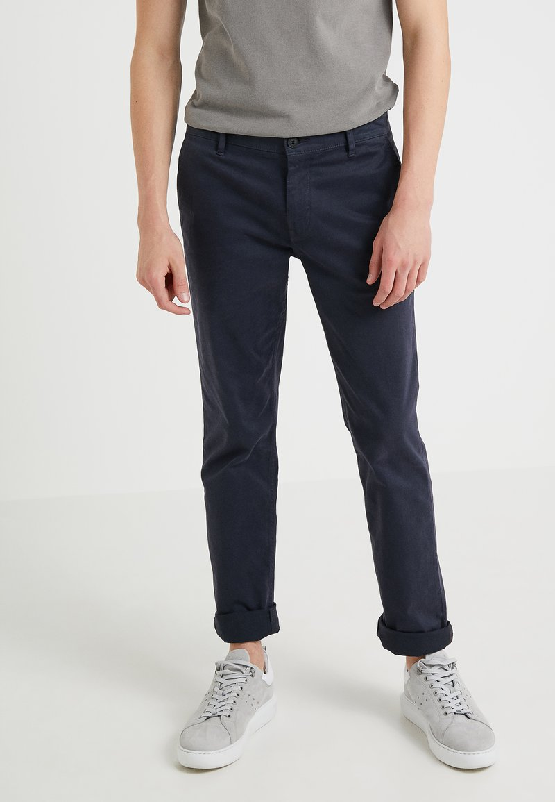 BOSS - REGULAR FIT - Broek - dark blue