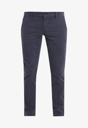 REGULAR FIT - Pantaloni - blaugrau