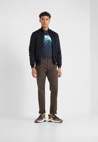 BOSS - REGULAR FIT - Kalhoty - brown - 1