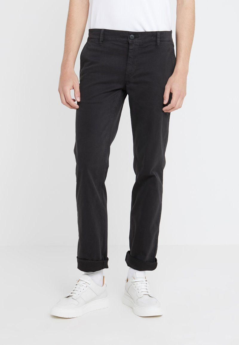 BOSS CASUAL - REGULAR FIT - Trousers - black