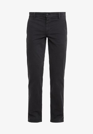 REGULAR FIT - Broek - black