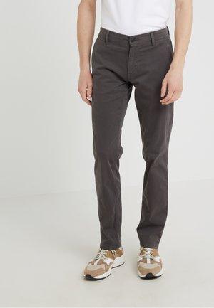 REGULAR FIT - Spodnie materiałowe - anthracite