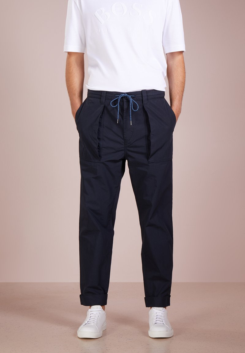 BOSS - SELIAN - Pantalon classique - dark blue