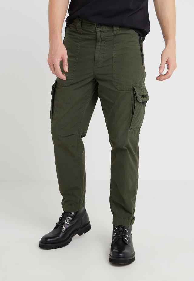 SARGO - Pantalones cargo - open green