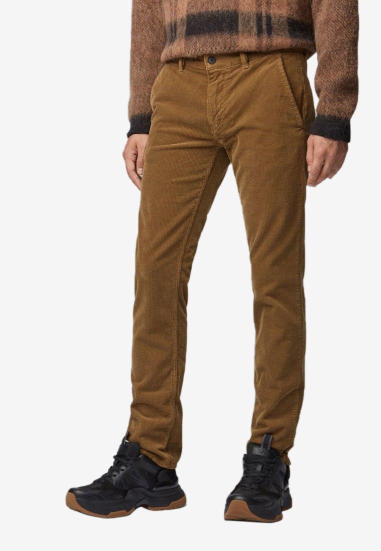 BOSS - Trousers - open beige