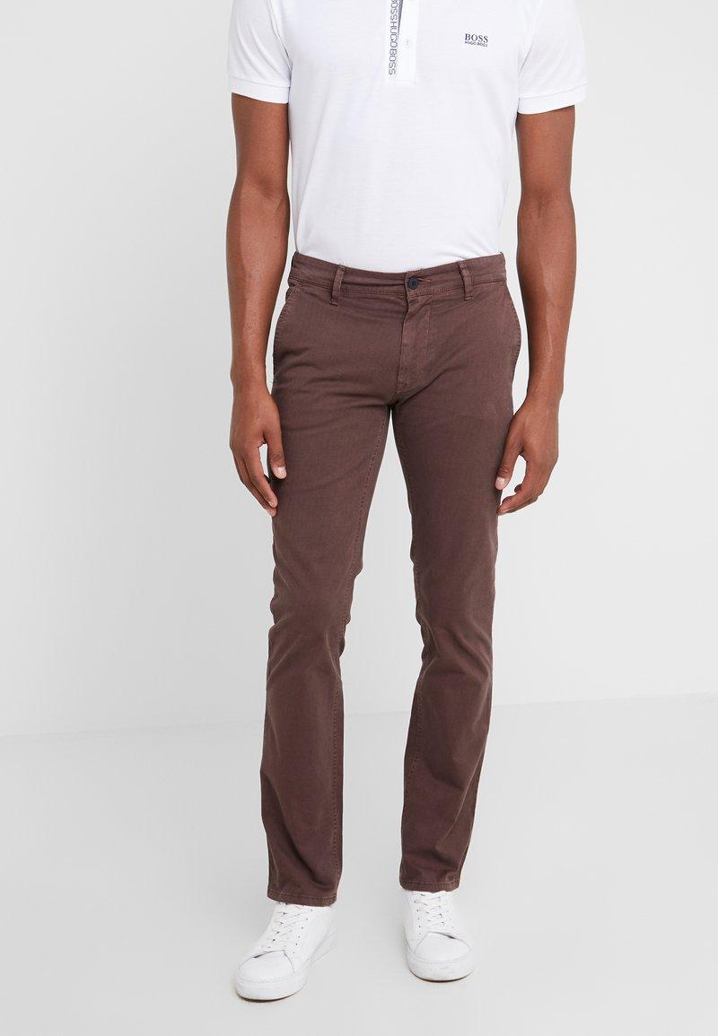 BOSS - Pantaloni - brown