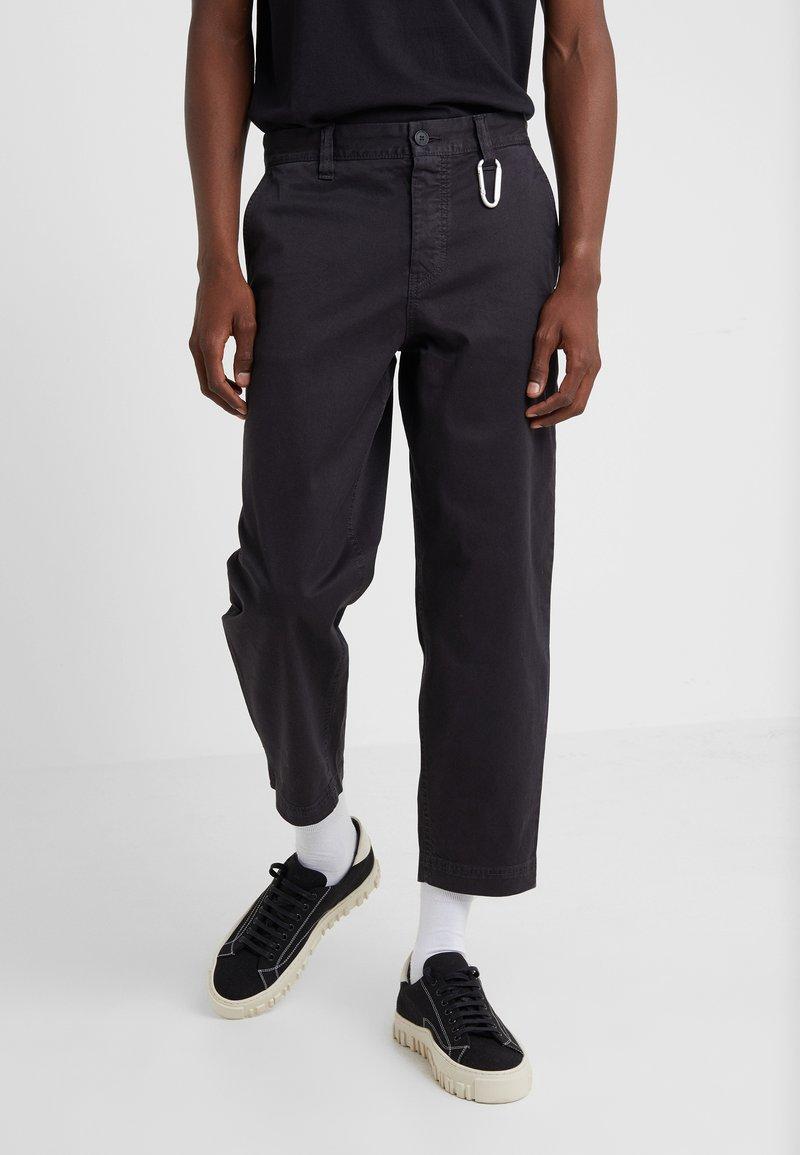 BOSS - SALT - Trousers - black