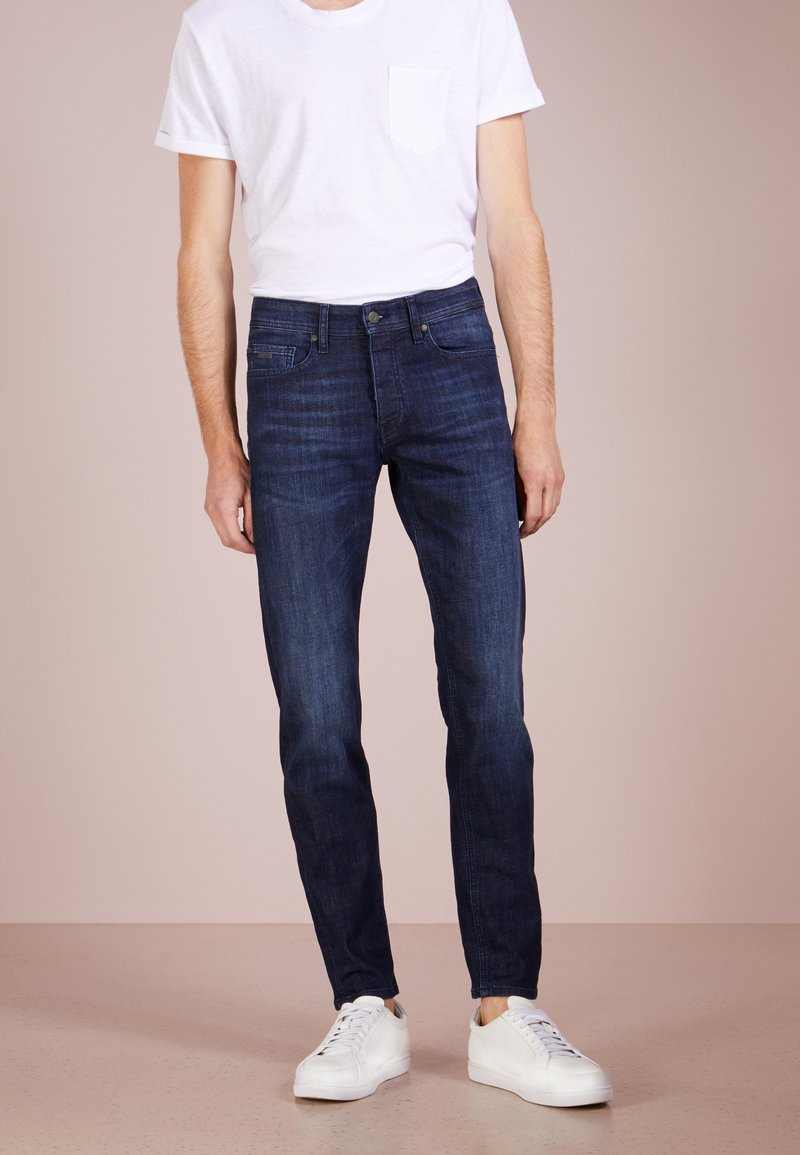 BOSS - TABER  - Jeans slim fit - navy