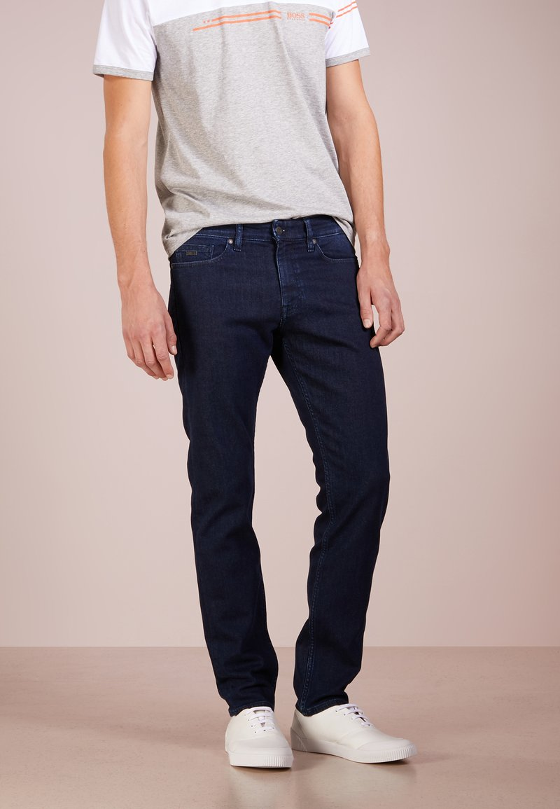 BOSS - DELAWARE  - Slim fit jeans - navy