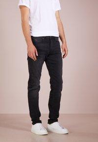BOSS - TABER - Slim fit jeans - black - 0
