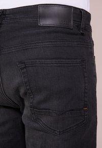 BOSS - TABER - Slim fit jeans - black - 3