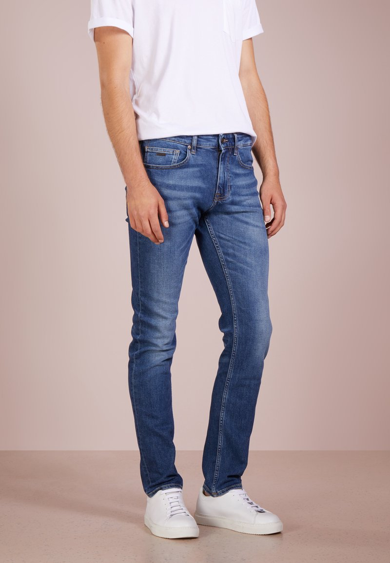BOSS - DELAWARE  - Jean slim - medium blue