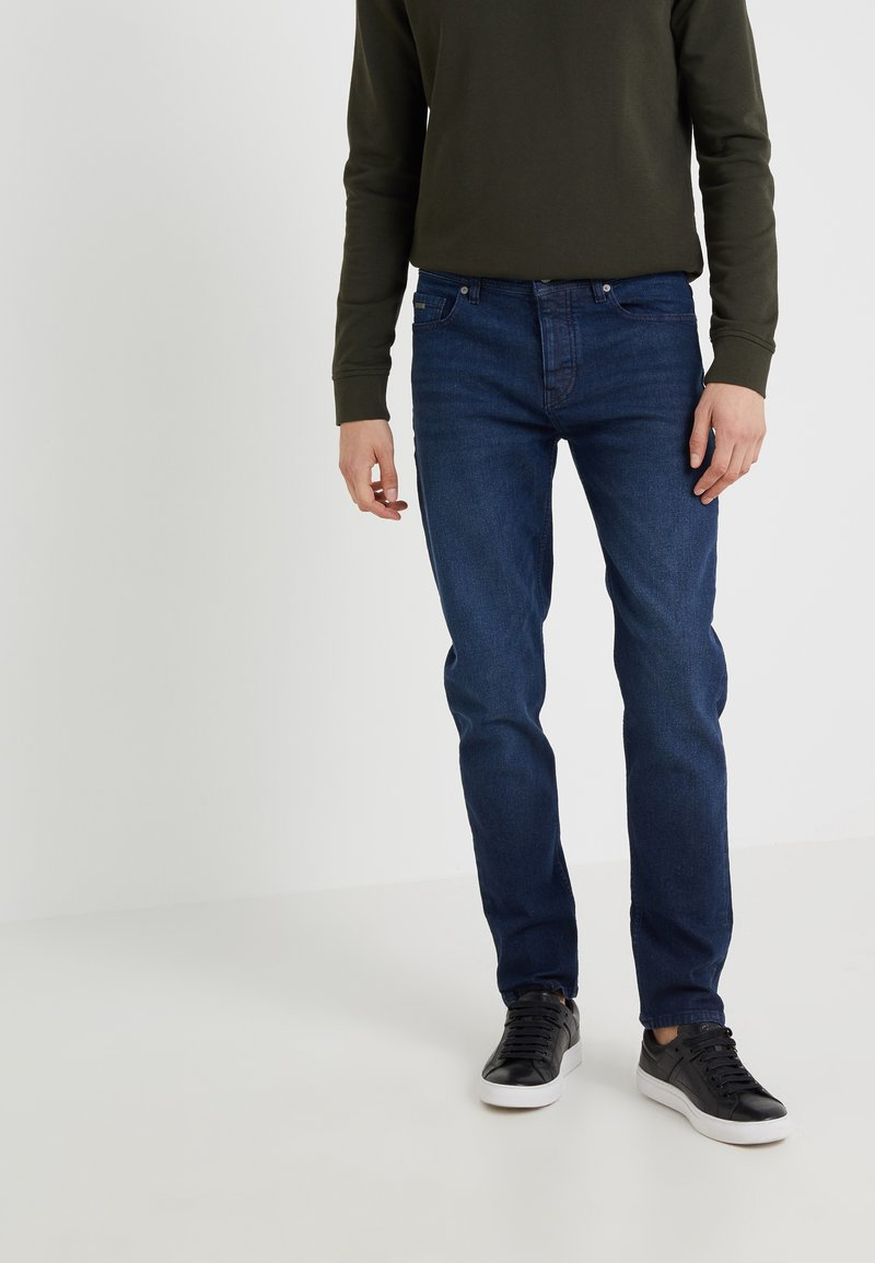 BOSS - TABER - Jeansy Slim Fit - dark blue