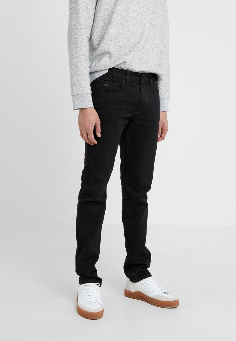 BOSS - DELAWARE - Slim fit jeans - black